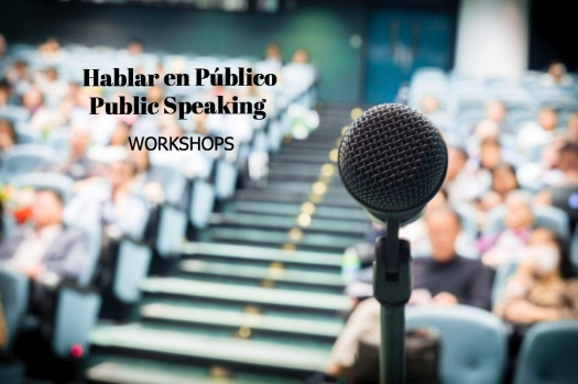 public speaking hablar en público workshops